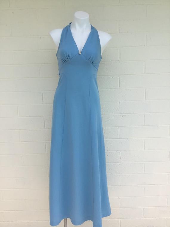 1970s vintage polyester dress - image 1