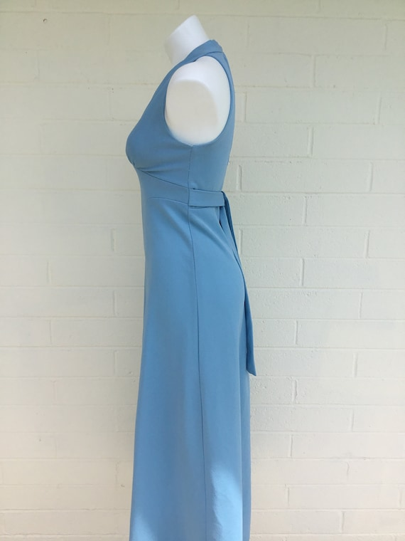 1970s vintage polyester dress - image 5