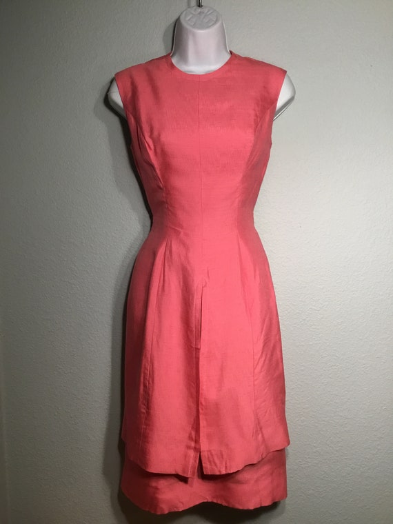 1960s dress convertible two piece