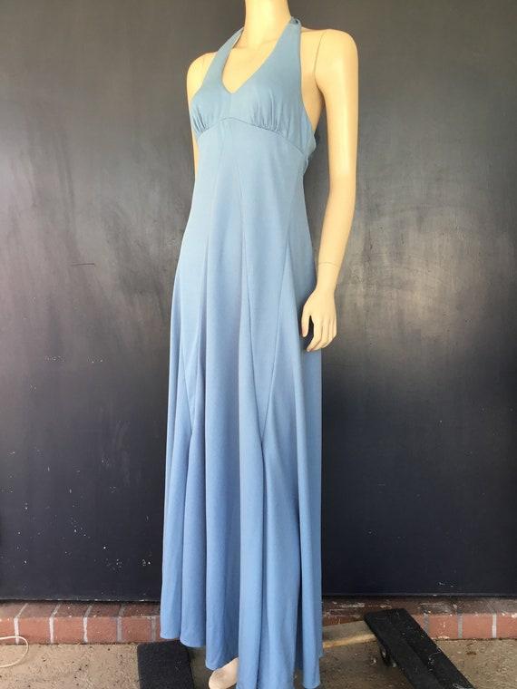 1970s Jack Hartley Miami maxi dress
