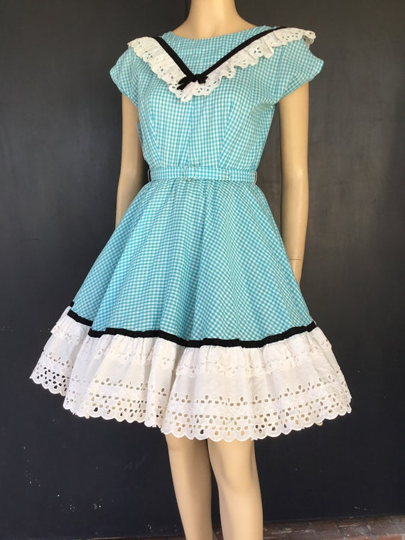 Vintage Pete Bettina square dance dress