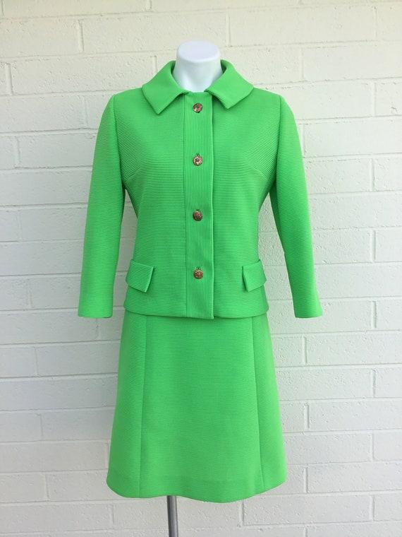 1970s vintage two piece dress - image 6
