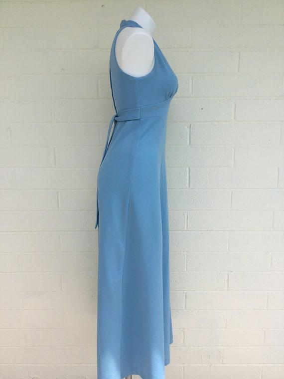 1970s vintage polyester dress - image 3