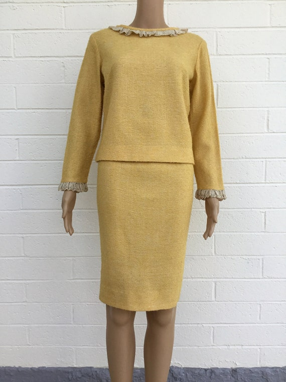 1960s Vicky Vaughn two piece dress
