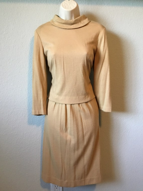 1960s two piece dress