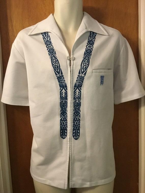 500ec57bb94af 1970s Iolani Hawaiian mens shirt