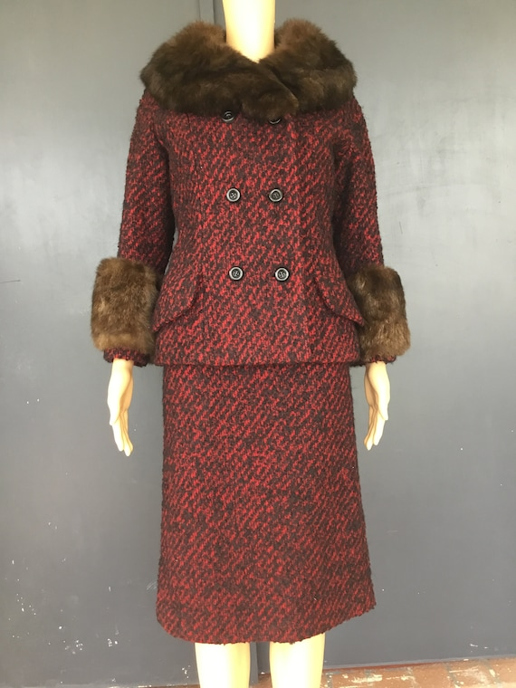 1960s Frederick & Nelson walking suit