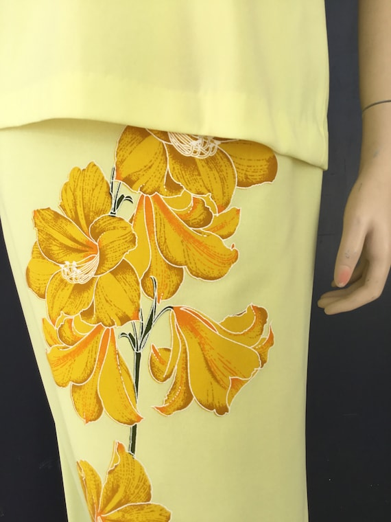 1970s Miss Shaheen two piece dress - image 3