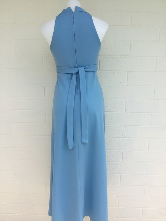1970s vintage polyester dress - image 4