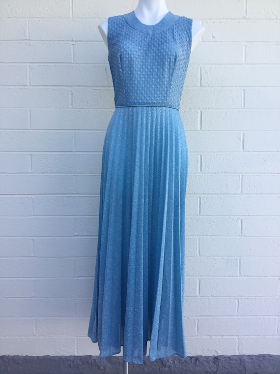 1970s Lurex dress