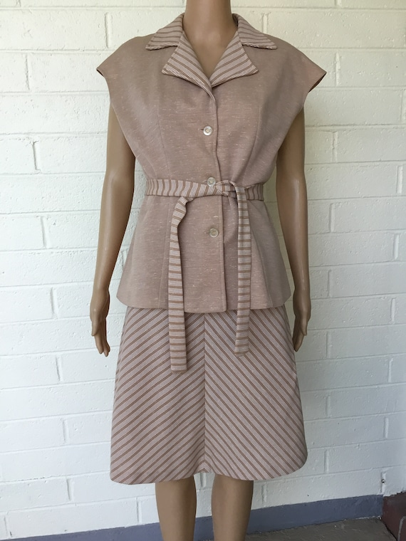 1970s two piece dress - image 1