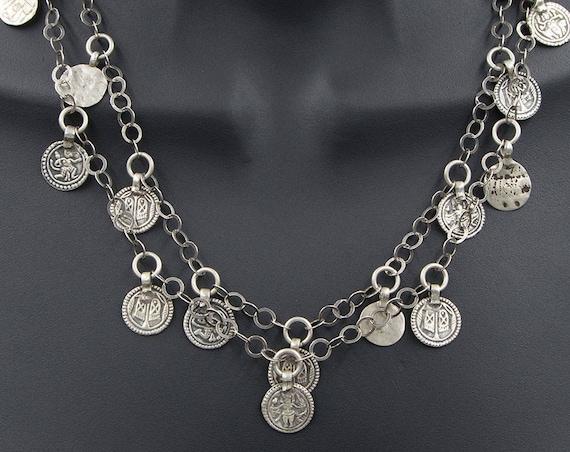 Hindu goddess amulet charm necklace