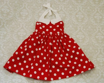 Minnie Mouse Dress   Minnie Mouse Birthday Party   Girls Dress   Ginger Dress   Disney Vacation