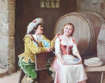 vintage oil paintings etsy