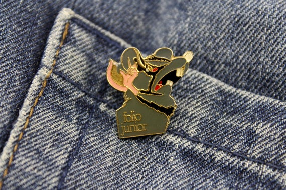 Enamel Pin Brooch Coat Hooks PIMP with PINS Lapel Pins 50s 60s 70s 80s 90s Jewelry Patches VINTAGE Buttons -