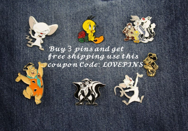 Brooch Coat Hooks 50s 60s 70s 80s 90s Jewelry Enamel Pin VINTAGE PIMP with PINS Lapel Pins Patches Buttons -