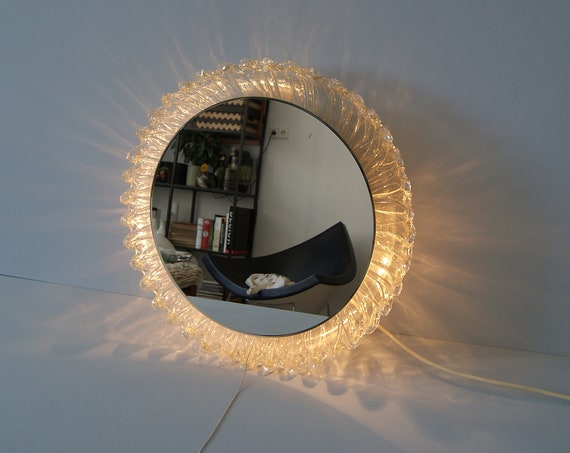 mirror illuminated by Schöninger, wall mirror, bathroom mirror