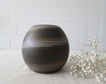 Vintage Vase by Jungnickel, Mid Century Studio Ceramics, Ball Vase