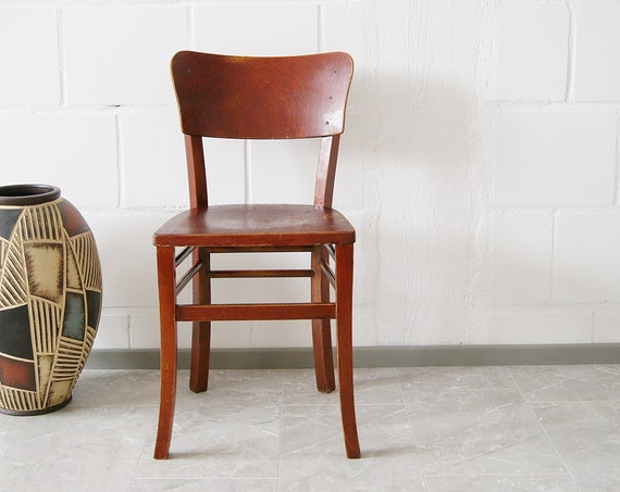 Wooden chair, bistro chair, dining chair