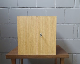 Cabinet sappers with compartments lockable, Mid Century hanging cabinets