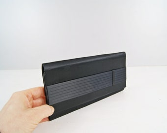 black clutch handbag, simple evening bag