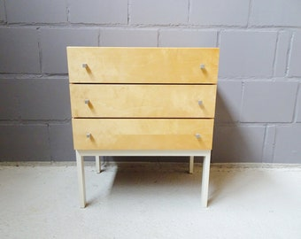Mid Century chest of drawers, night cabinet, drawer dresser, bedside table