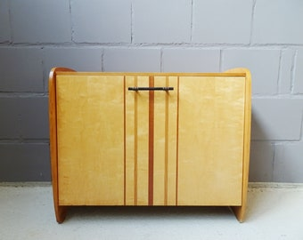 Shoe Cabinet 1950s, Mid Century Chest of Drawers, Sideboard