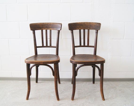 Thonet chair set, bistro chair, bentwood chair
