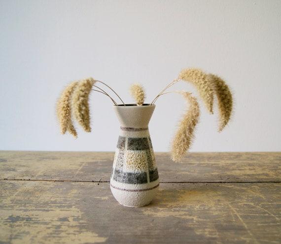 Small vase, Studio ceramics, Vase ceramics, mid century ceramics, fat lava glaze