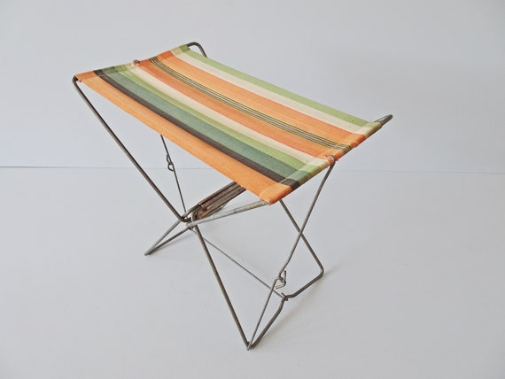 French outdoor folding stool, fishing stool, camping, picnic, foldable stool