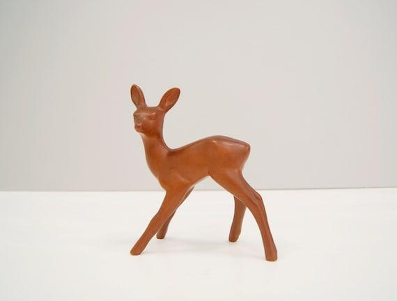 Rer Wormser Ceramic Mid Century, Rehkitz Figure Terracotta