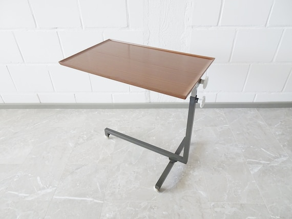 Table Variett by Bremshey, height-adjustable serving table, side table on wheels, trolley