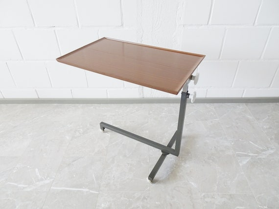Table variet by Bremshey, serving table height adjustable, side table on wheels, serving trolley