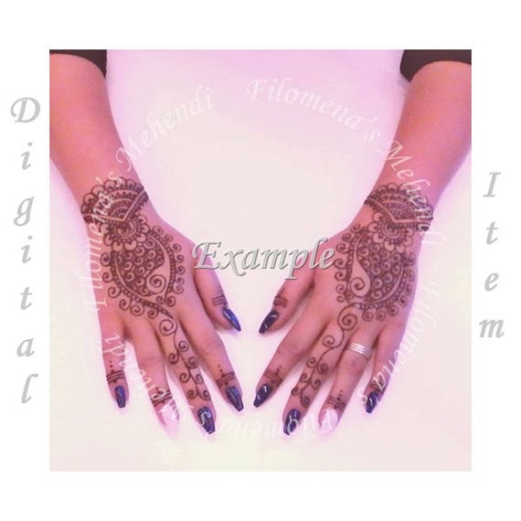 Custom Tattoo Design Henna Designs Mehndi Designs Tattoo Etsy