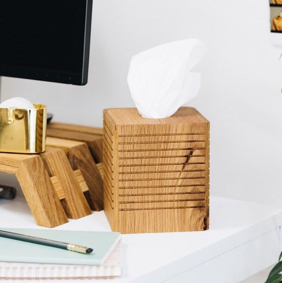 Wood Tissue Box Holder