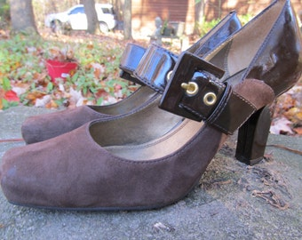 Franco Sarto Suede Leather Shoes
