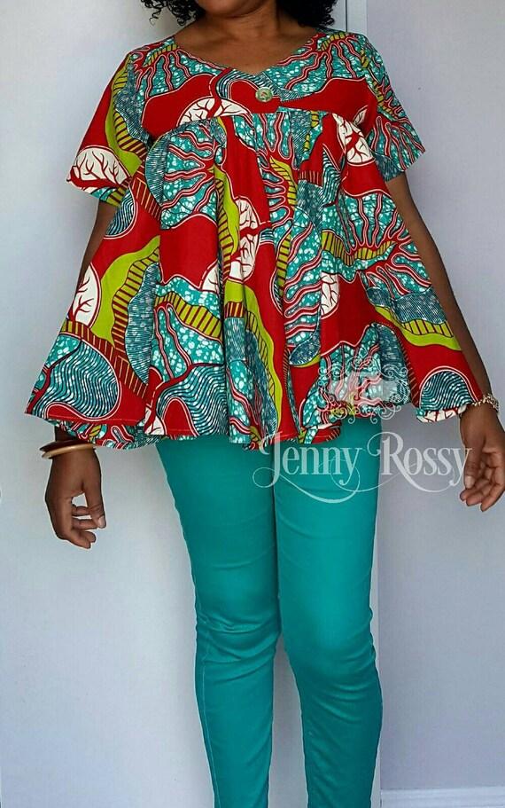 African Clothing Free Blouse Ankara Maternity Top Ankara Etsy
