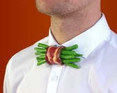 Green beans bacon bowtie green beans bow tie bacon bow Tie bowtie bowties ties menswear food bow tie art artist rommydebommy vegetables fun