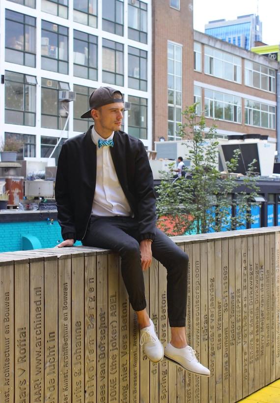 info pour lacer dans comment acheter Bonbon cravate Design accessoires bijoux Rommydebommy hommes costume Bowtie  masculine Mensstyle messieurs garçon homme bonbons rayures Candy ...
