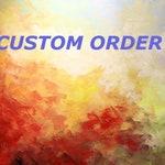 Custom Order......Red Poppy Painting
