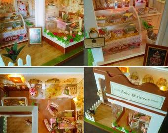Hand-made miniature bakery