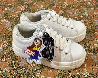 aafad02fbe1b Vintage 90s DEADSTOCK SKECHERS Chunky Platform Sneakers Size 7.5 As Is