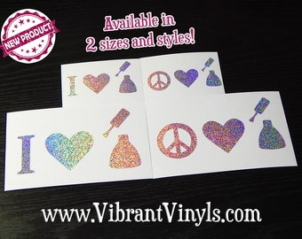 Holographic Vinyl Decals