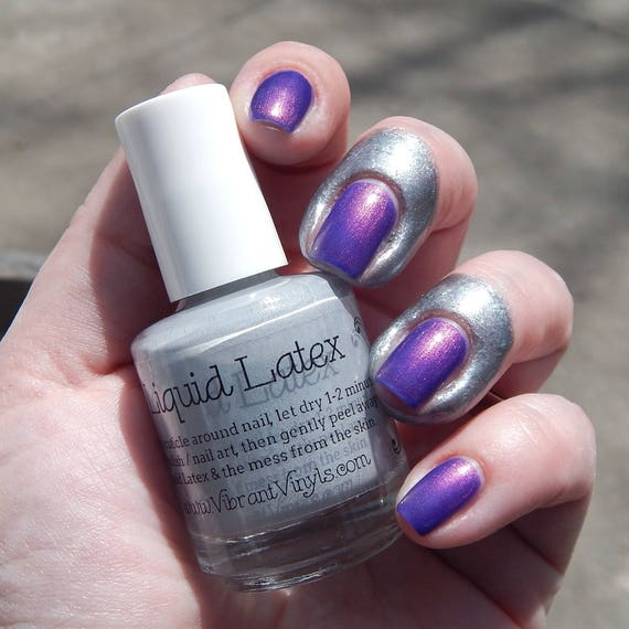 Liquid Latex Peels Off For Easy Nail Art Cleanup Etsy