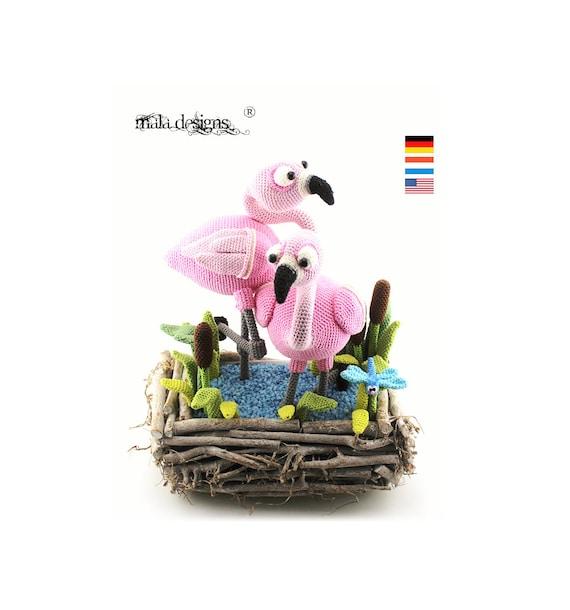Flamingo Libelle Lisdodden