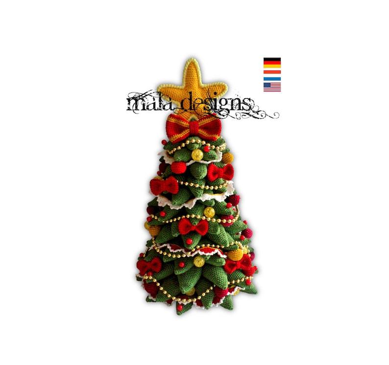 christmas tree  crochet pattern image 0