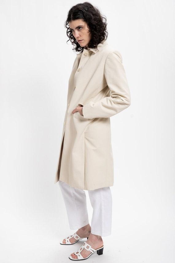 90s Cream Minimal Jacket M