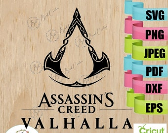 Assassins Creed Svg Etsy