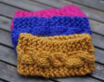 Comfy Cozy Cabled Head-wrap