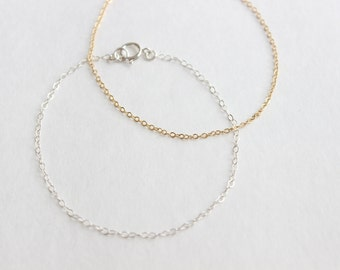 Classic Layering Chain Bracelet